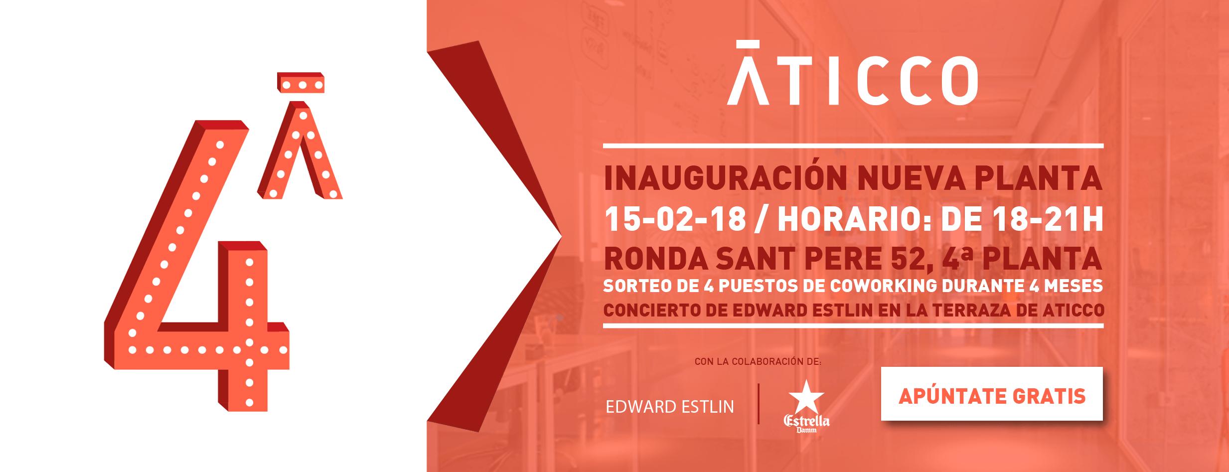 Inauguración #lacuartadeaticco