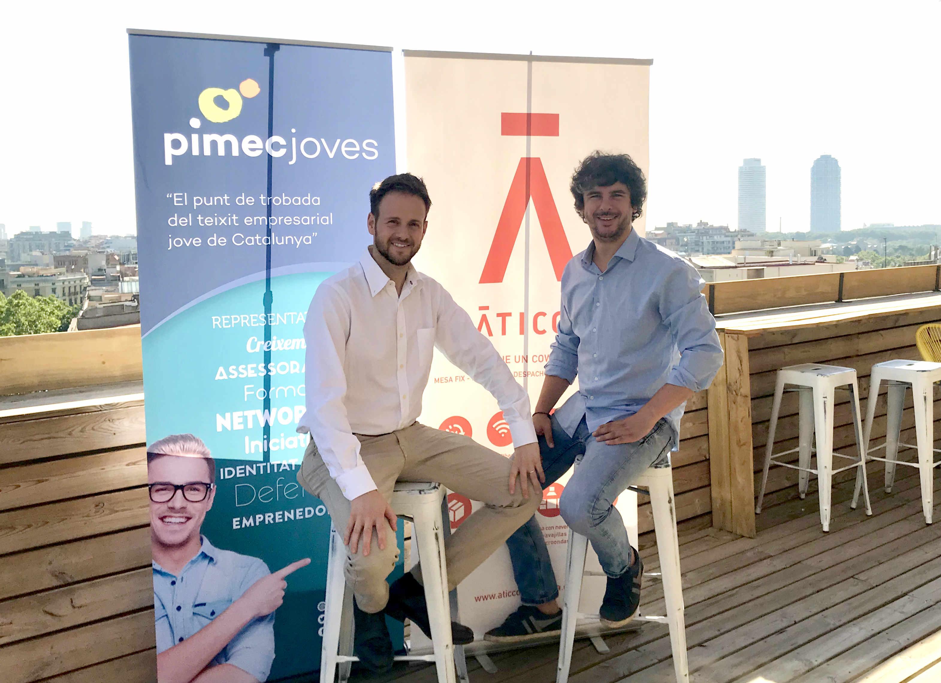PIMEC Joves y Aticco: unidos por el coworking