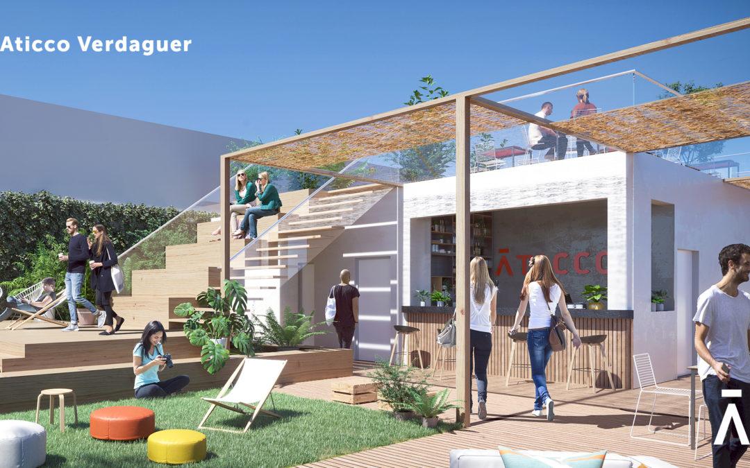 Aticco Verdaguer, un nuevo espacio en el barrio de Gràcia