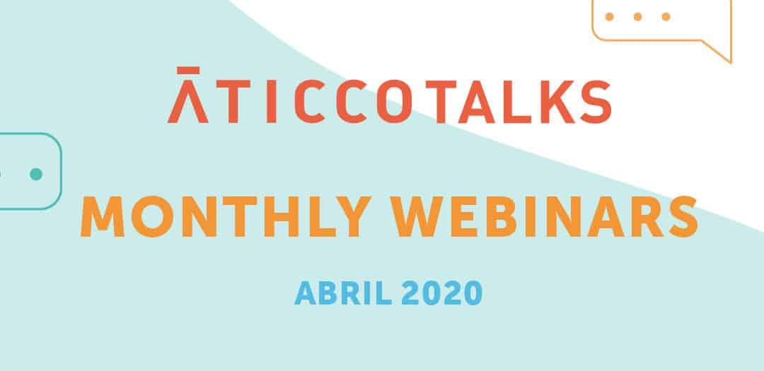Webinars de Abril 2020