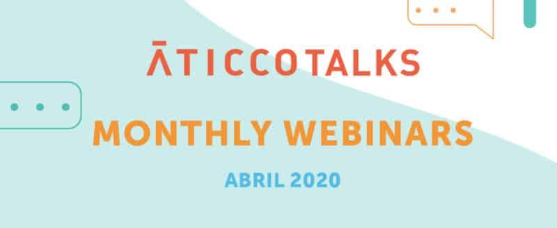 webinars, aprendizaje, networking y más con Aticco coworking