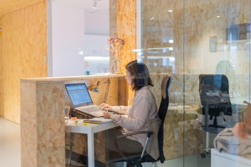 medidas para los espacios de trabajo