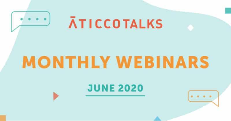 webinars aticco mes de junio 2020